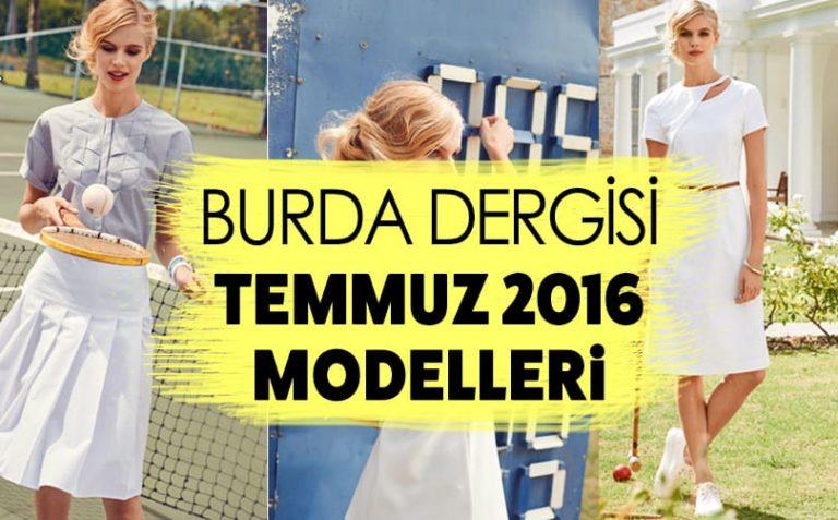 Burda Dergisi Temmuz 2016 Modelleri