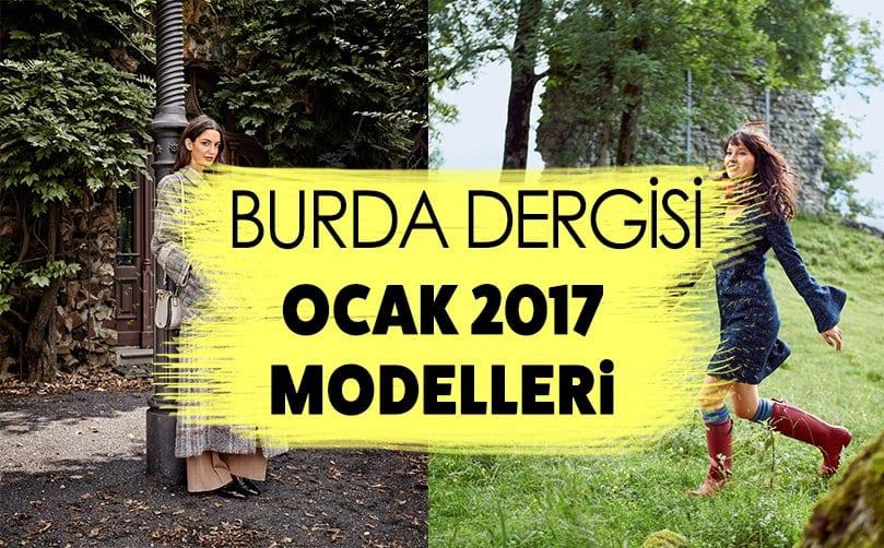 BURDA DERGİSİ OCAK 2017